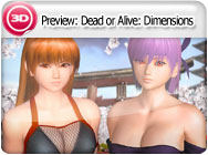 3DS-Preview: Dead or Alive: Dimensions