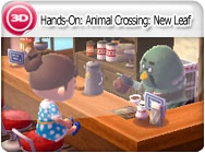 3DS-Hands-On: Animal Crossing: New Leaf