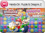 3DS-Hands-On: Puzzle & Dragons Z