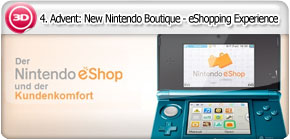 4. Advent: New Nintendo Boutique - eShopping Experience