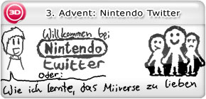 3. Advent: Nintendo Twitter