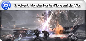 3. Advent: Monster Hunter-Klone auf der Vita