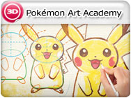 3DS: Pokémon Art Academy