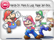 3DS-Hands-On: Mario & Luigi: Paper Jam Bros.