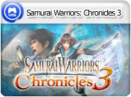 PSVita: Samurai Warriors: Chronicles 3