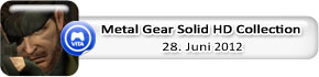 Metal Gear Solid HD Collection (28. Juni)