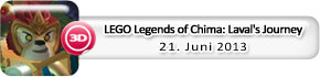 LEGO Legends of Chima: Laval's Journey (21. Juni)