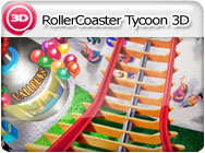 3DS: RollerCoaster Tycoon 3D
